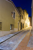 Old picturesque streets of Badalona Stock Photography