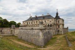 Old Pidhirtsi Castle outside. Ukraine Stock Photography