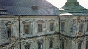 Old Pidhirtsi castle. Ukraine. An architectural elements of an ancient castle. Old Pidhirtsi castle. An architectural elements of an ancient castle. Ukrainen stock video footage