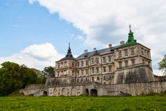 Old Pidhirtsi Castle Royalty Free Stock Photo