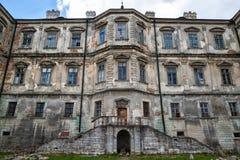 Old Pidhirtsi Castle Royalty Free Stock Photos