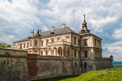Old Pidhirtsi Castle Royalty Free Stock Image