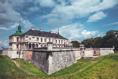 Old Pidhirtsi Castle, village Podgortsy, Renaissance Palace, Ukr Royalty Free Stock Photo