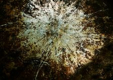 Grunge grime metal. Old piece of grimy metal with scratches and grunge look Stock Image