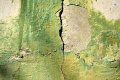 An old piece of wall paint Royalty Free Stock Images