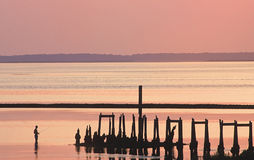 Old Pier Royalty Free Stock Images