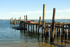 Old pier Stock Image
