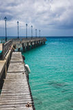 Old Pier in Barbados Royalty Free Stock Photography