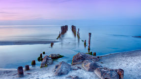 Old pier Royalty Free Stock Photography