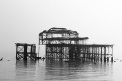 The Old Pier Royalty Free Stock Photo