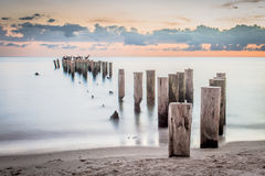 The old pier Royalty Free Stock Image
