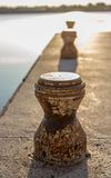 Old pier Royalty Free Stock Photo