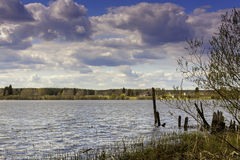 An Old Pier. A pier at Haapajärvi, Finland. It hasn't been used for a while. Follow me on Twitter to see if your travel picture is on focus this week! | The royalty free stock photo