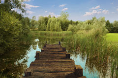 Free Old Pier Landscape Stock Photos - 38930943