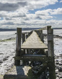 Old Pier stock photography