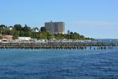 Old Pier , Portland Maine Royalty Free Stock Photos