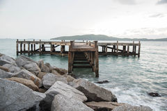 An old pier Royalty Free Stock Photography