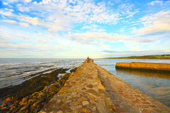 Old Pier in St Andrews Stock Photos