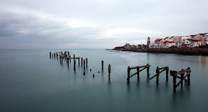 The Old Pier at Swanage Stock Images