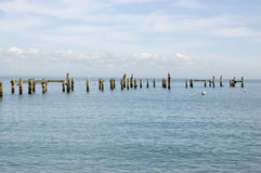 Old pier, Swanage, Dorset Royalty Free Stock Photos
