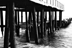 Old pier Stock Images
