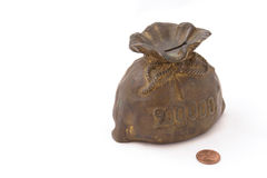 Old piggy bank or money-box Royalty Free Stock Image