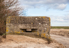 Old pillbox Stock Photography