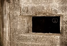 Old Pillbox Peace Royalty Free Stock Image