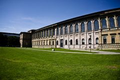 Old Pinakothek. The building of Old Pinakothek in Munich, Germany Stock Image
