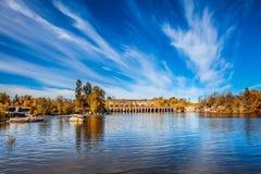 Old Pinawa Dam Park Royalty Free Stock Photography