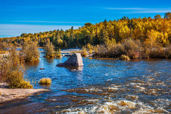 Old Pinawa Dam Provincial  Park Stock Photography