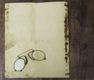 An old pince-nez Stock Photo