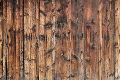 Old Pine Siding Background Stock Photo