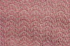 Old pink cotton rug Royalty Free Stock Image