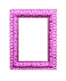 Old pink frame Stock Photography
