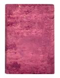 Old pink velvet cover isolated Royalty Free Stock Photography