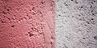 Old pink wall background. Copy space for text. Royalty Free Stock Image
