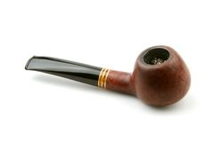 Old Pipe Tobacco Royalty Free Stock Photo