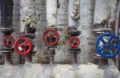 Old pipe valve Royalty Free Stock Image