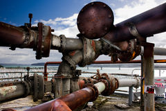 Old pipes Royalty Free Stock Photo