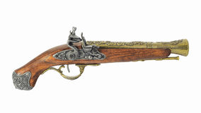 Old pirate pistol Stock Photo