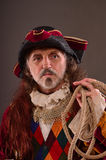 Old pirate's captain Stock Photos