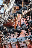 Old pirate ship Royalty Free Stock Photo