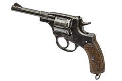 Old pistol, Isolated on white background Stock Image