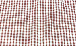 Old plaid red Stock Photos