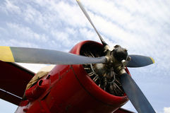 Old plane Stock Photography
