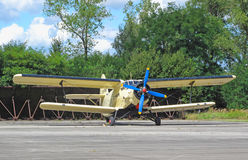 Old plane Antonov An2 Stock Photography