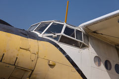 Old Plane Royalty Free Stock Photography