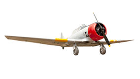 Old plane isolated Royalty Free Stock Photos