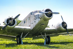 Old plane ju b2 Stock Images